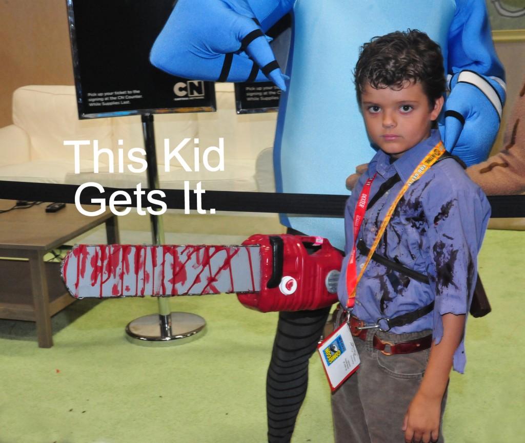 Evil dead kid