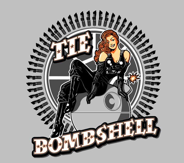 Tie Bombshell
