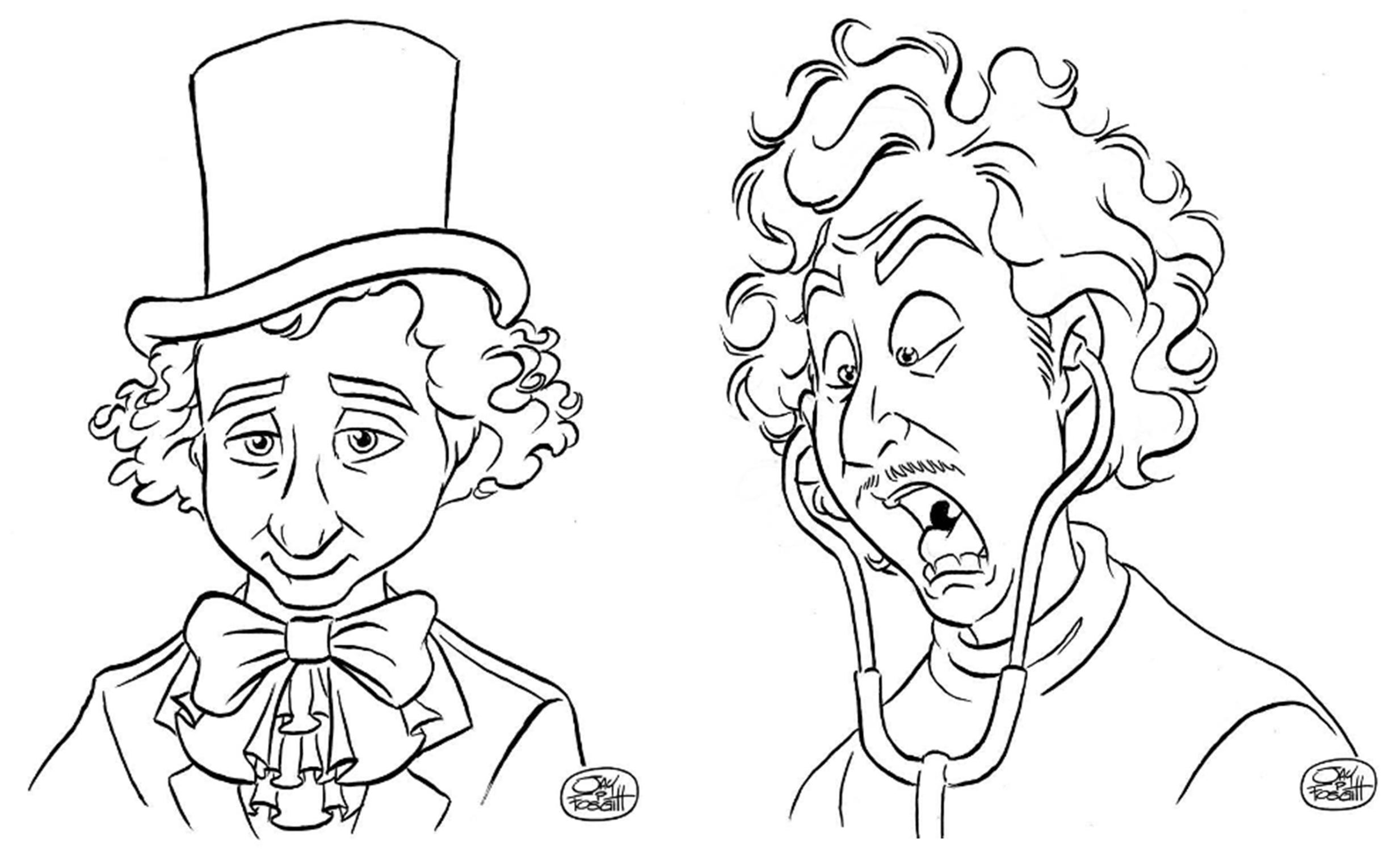 Fan Tribute Sketches by Jay Fosgitt